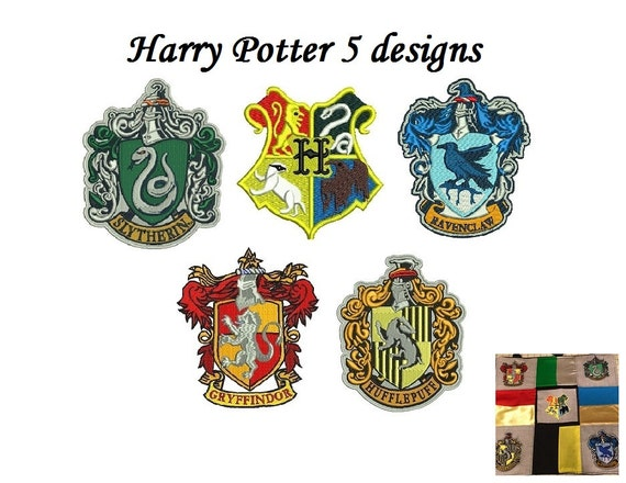 Harry potter embroidery design pack designs hogwarts