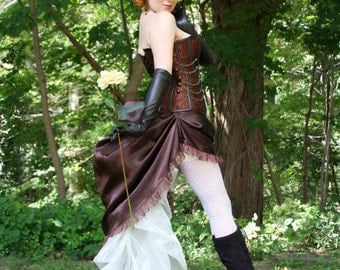 Gaslight Pinup Steampunk Costume - Made to Order