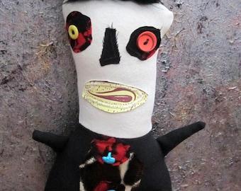 Primitive Folk Art Doll Dan Anderson
