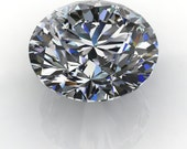 Private Listing for Diego - Amora Gem Ultra - round cut loose stone