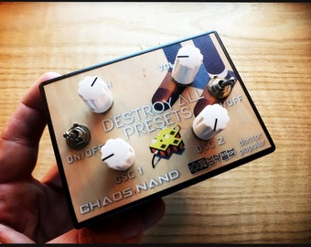 "Chaos NAND Synth (Special ""Destroy All Presets"" Edition drone and experimental music maker)"
