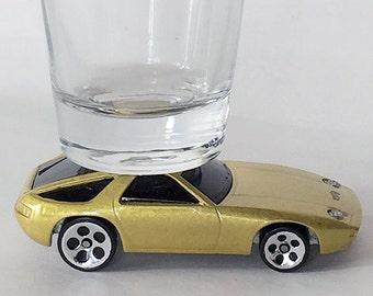 The ORIGINAL Hot Shot, Shot Glass, Porsche 928, Hot Wheels