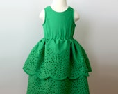 RESERVED for JESSICA tinker bell dress and sugar & spice dress custom order (total two dresses)