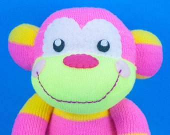 Strawberry Lemonade the Sock Monkey