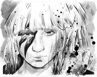 Gaga - Original Illustration