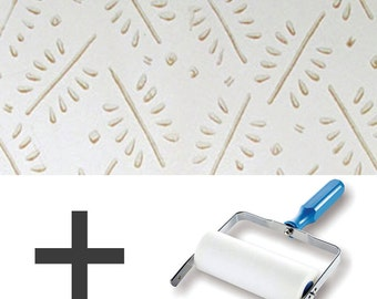 1-Colour Pattern Paint Roller STARTER PACK - Twiggy
