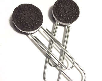 Oreo Cookie Paper Clips