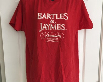 Vintage 1980s Bartles & Jaymes wine coolers t-shirt Screen Stars 50/50