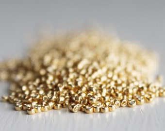 10g Galvanized Gold Size 15 TOHO Seed Beads