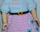 18 inch American Girl Crochet Pattern - Raritie