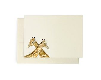 Giraffe Note Card