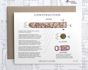 Project Cigar - Blank Architecture Construction Card
