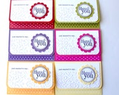 THANK YOU GIft Card Holder Handmade goodness for store bought giftcards