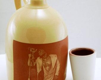 James Brown jug decorative handmade