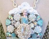 RESERVED Elsa necklace