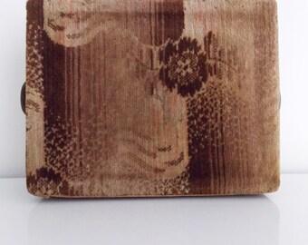 art deco foot warmer dutch Amsterdam school /1920s 30s bauhaus hot water bottle/ art deco wood box