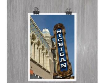 Michigan Theatre - Ann Arbor, Mich - 4 x 6 photograph