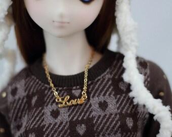 Love Necklace for SD BJD, Dollfie Dream Dolls