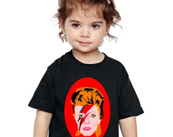 kids clothing... DOLLY parton or ZIGGY rebel rebel or PURPLE rain or any of my illustrations toddler tee... original illustrations