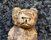 RESERVED for Sue C. Artisan made ceramic pendant - The Lion Man - Neolithic amulet - Protection charm - talisman