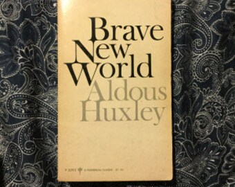 Brave New World By Aldous Huxley Vintage Paperback Book