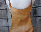 Reserved Frye Leather Backpack Vintage 1980s Brown Small