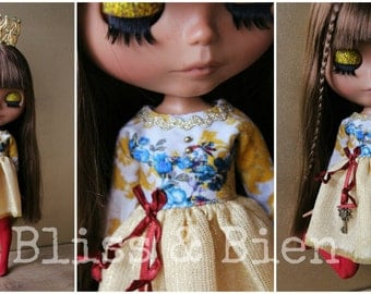 "Blythe  fairy tale dress ""Chinese Nightingale"""