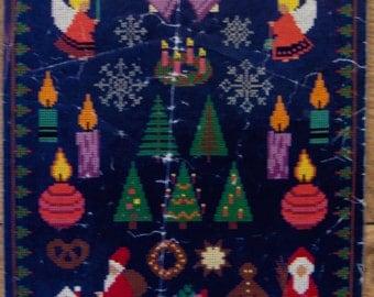 vintage Denmark cross stitch patterns Christmas