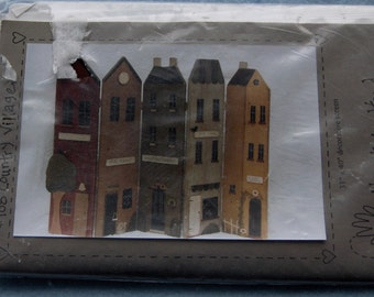 1996 Heart to Hand pattern 31 inch x 40 inch decorative screen COUNTRY VILLAGE  wood Uncut