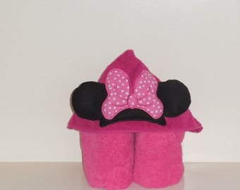 Hooded Towel- Mouse