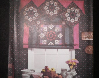 Simplicity House Pattern 7602 - No Sew Curtains - Six Curtain and Shade Variations