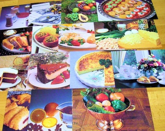 Food Photographs for Upcycling in Scrapbooking, Collage, or Any Paper Art