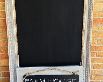 Farmhouse Kitchen Chalkboard Organizer Sale Free Shipping