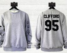 Michael Clifford Tattoos Sweater Sweatshirt Crew Neck Shirt Add Clifford  95 – Size S M L XL