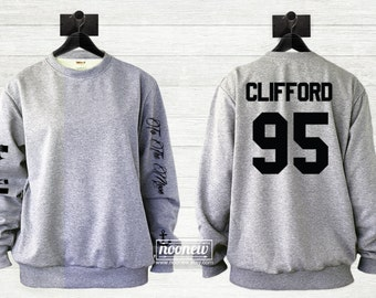Michael Clifford Tattoos Sweater Sweatshirt Crew Neck Shirt Add Clifford  95 – Size S M L XL