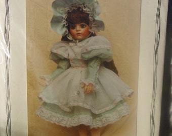 """Sewing Pattern 22"""" Doll Dress """"Yesterday's Children"""" #BS-144"""