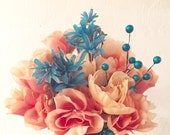 Custom quinceanera bouquet, corsage and boutonniere order for Nicole