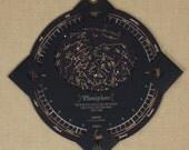 PLANISPHERE - Star Finder ...  Letterpress & foil printed