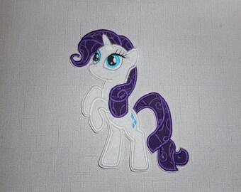 Free Shipping Ready to Ship Unicorn Machine Embroidery Iron on applique