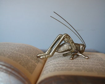 Brass Grasshopper Cricket