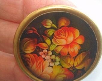 Flower Garden Jewelry Brooch KL Design