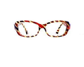 90s Beausoleil Paris Eyeglasses Sunglasses Frames Women's Vintage 1990's Tortoiseshell #M504 DIVINE