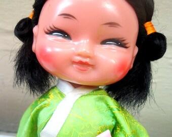 Mid Century Asian Doll