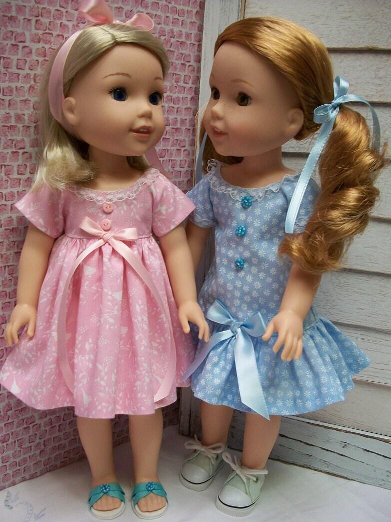Pdf Wardrobe Pattern For 14 5 Quot Dolls Like Heart 4 Heart