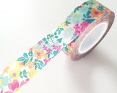 Cute floral tape flower washi tape