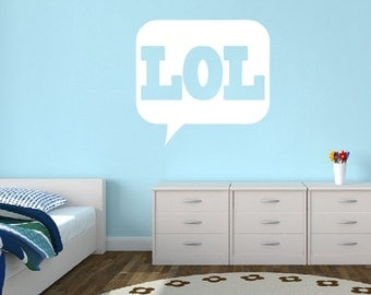 LOL - Quotes Wall Decals