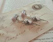 Wedding Prom Bird Skull Dangle plugs Gauges o615  4g, 2g, 0g