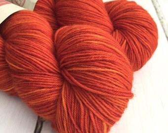 BFL Supersock British Bluefaced Leicester / Nylon sock yarn - Uluru