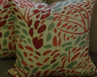 SALE - Annie Selke - Toadstool (Russet) - Pillow Cover Only 20 x 20 - JD Designs