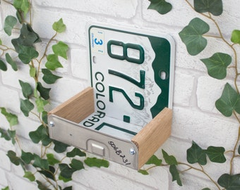 Bird Feeder, Colorado License Plate Bird Feeder, Can be personalised